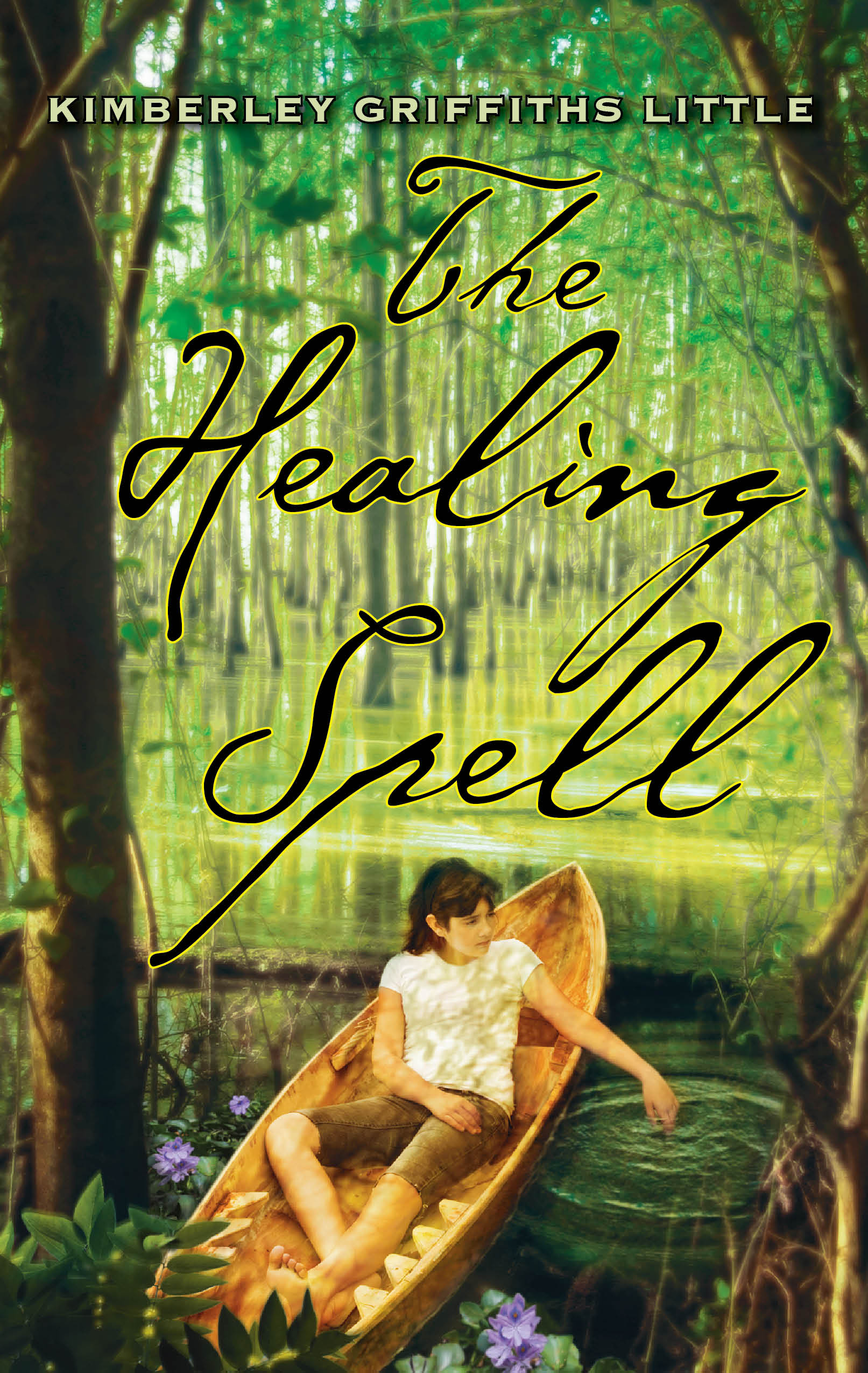 THE HEALING SPELL front cover